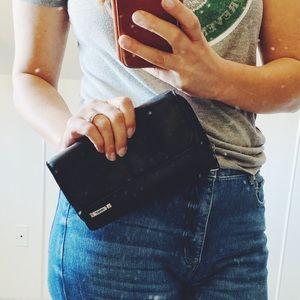mundi Genuine Leather Foldover Wallet
